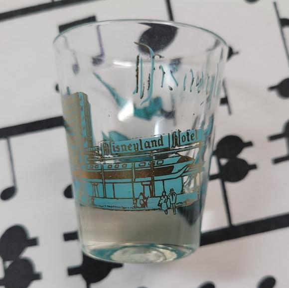 Vintage Disneyland Hotel Shot Glass